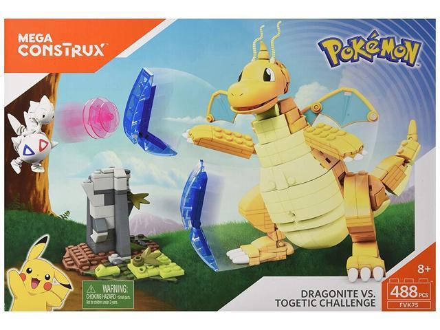 Mega Construx Pokemon Dragonite Vs  Togetic Challenge - Newegg com