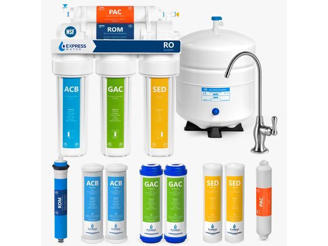50 GPD Membrane Water Purifier 5 Stage Filter Replacement RO Only for Household