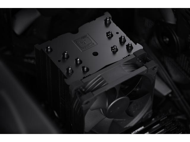 Noctua NH-U9S chromax.Black Ventirad CPU Simple Tour 92 mm Noir