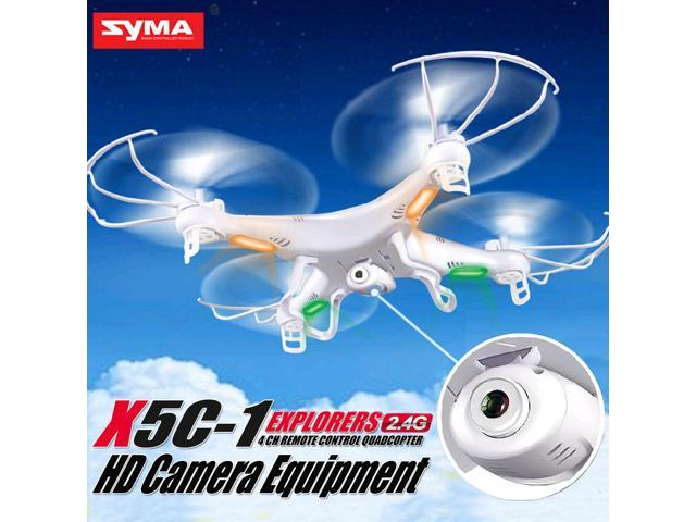 Syma X5C Explorers 2 4G 4CH 6-Axis Gyro RC Quadcopter With HD Camera -  Newegg com