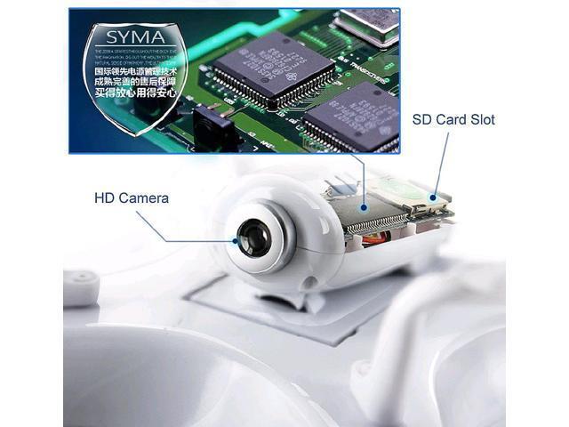 Syma X5C Explorers 2 4G 4CH 6-Axis Gyro RC Quadcopter With HD Camera -  Newegg com