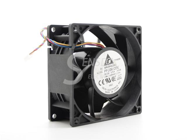 Delta PFC0912DE 9038 90mm 9cm DC 12V 3 72A 9038 9CM server inverter cooling  fan - Newegg com