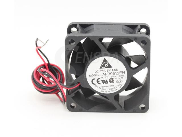 for Delta AFB0612EH 12V 0.48A 6025 6cm 6CM PWM Temperature Controlled Cooling Fan