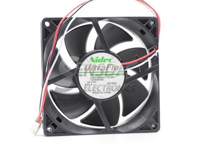 Japan Nidec U92T24MUA7-53J561 9 2cm 9025 9225 24V DC 0 14A 3wire server  inverter fan case cooler cooling fan - Newegg com