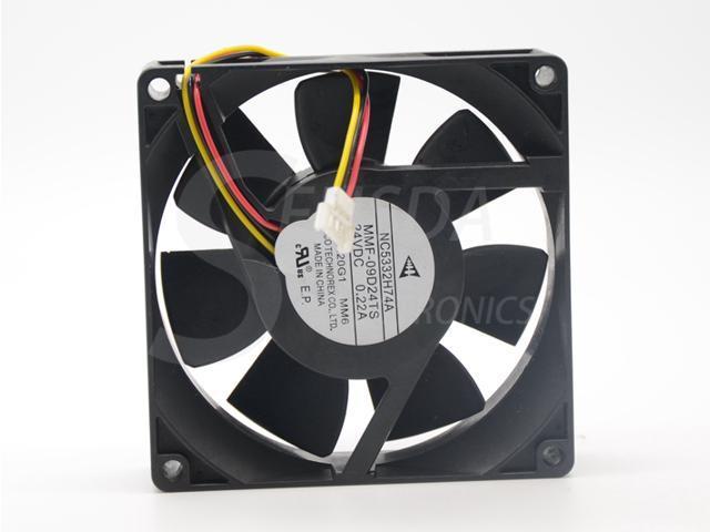 For Mitsubishi F740 NC5332H74A MMF-09D24TS-MM6 24V 0.22A cooling fan MM6 plug