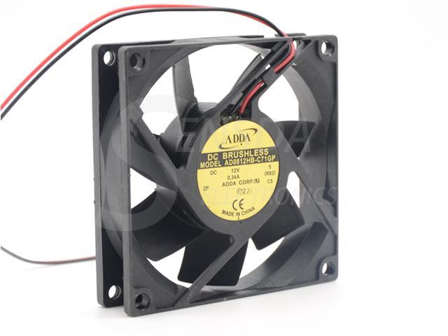 Original ADDA AD0812UB-A70GL case fan DC12V 0.30A 80*25*25mm UPS cooling fan NEW