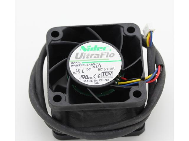 NEW original 4cm W40S12BS4A5-57 4028 DC 12V 0 73A server fans for Nidec  40*40*28mm 4 wires case cooling fan - Newegg com