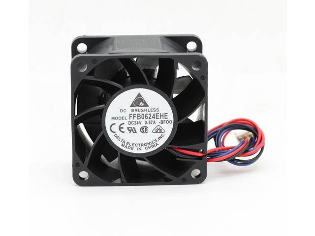 Wholesale Delta FFB0624EHE 6038 60*60*38mm 6cm DC 24V 0 57A server inverter  cooling fans axial cooler - Newegg com