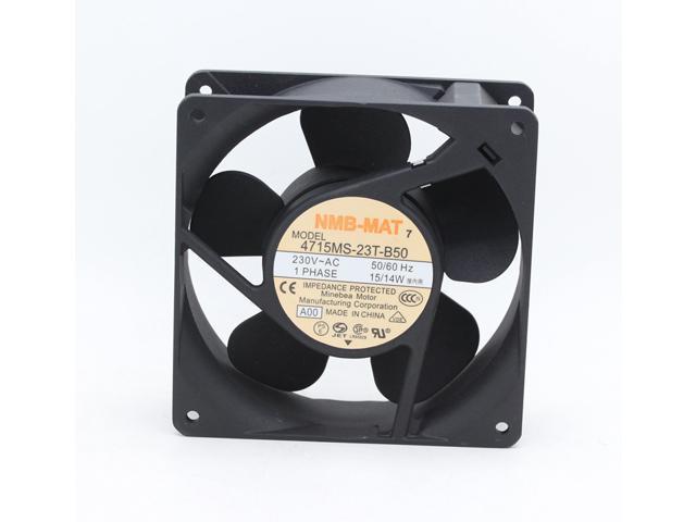 NMB 4715MS 23T B50 12cm 12038 AC 230V 15W DC Cabinet Cooling Fan 120mm