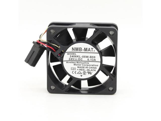 Fanuc fan NMB-MAT 2406KL-05W-B59 6015 6cm 18 3CFM 24V 0 13A cooling  A90L-0001-0511cooling fan case cooler - Newegg com