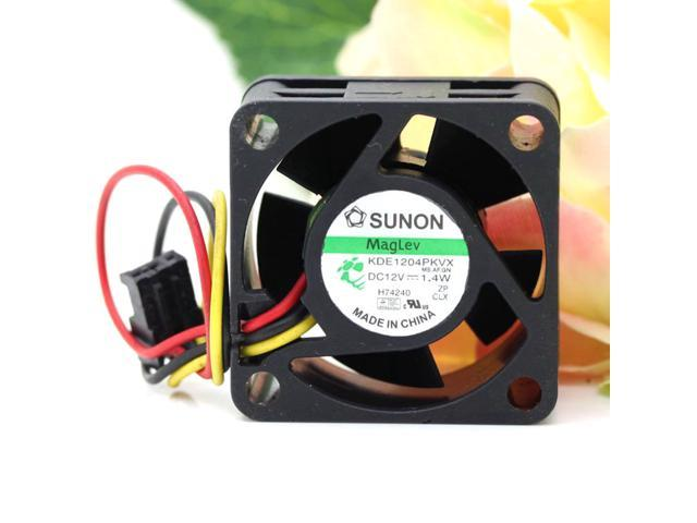 Sunon KDE1204PKVX 4020 12V 1 4W for Cisco 2950 fan switch server inverter  cooling fan - Newegg com