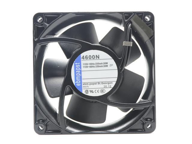 1 pcs ebmpapst 4600N Fan AC 115V 20W  120 × 120 × 38mm