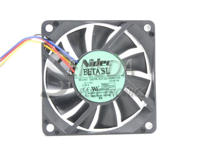 Quiet Hydraulic 12V 70mm 70x70x15mm PC Computer Case Cooling Cooler Fan 4pin