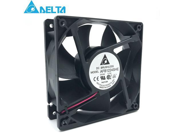 for delta AFB1224SHE 12038 120mm 12cm DC 24V 0.75A server inverter axial cooling fans