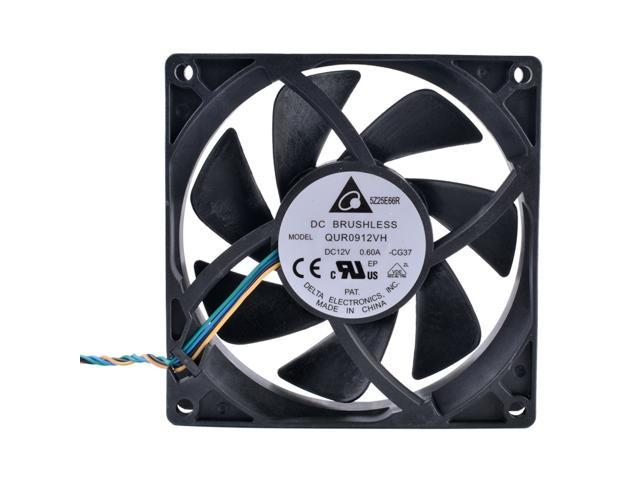 Hydraulic Bearing PWM Function 4 Lines High Speed ​​Temperature Control Fan Low Noise Radiation Fan for Computer 12cm Water Cooler Ventilator