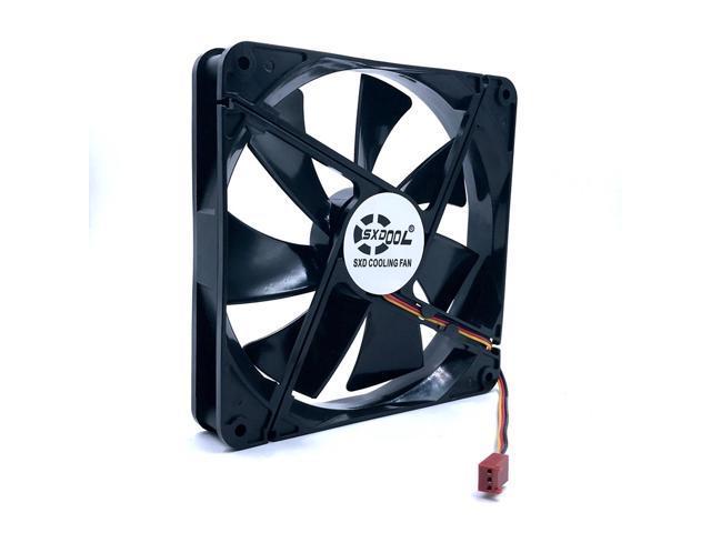 Silent Quiet Desktop PC Cooling Fan 140mm 14cm DC 12V 4D Computer Cooler Fan