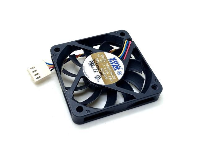 SAD12025B24H 12cm 12025 24V double ball large volume fan PWM temperature control computer CPU case industrial computer fan