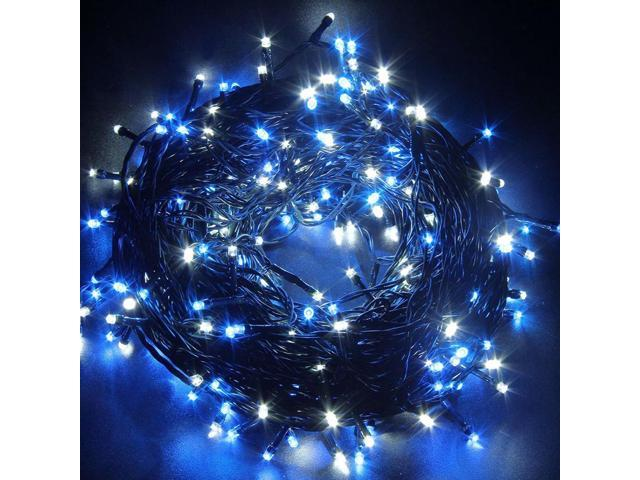 Decorative Christmas Twinkle LED Lights 80LED 35ft Color Changing Modes  Fairy String Light for Outdoor, Indoor Decor, Garden, Wedding, Party + ...