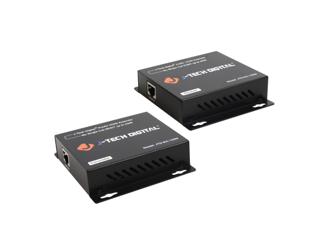 HDMI Sender and HDMI Receiver Included BolAAzuL 1080P HDMI Extender by Cat5e//6 Cable Up to 50M with HDMI Loop Out/&IR Amplifier POC Power Over Cable Supported