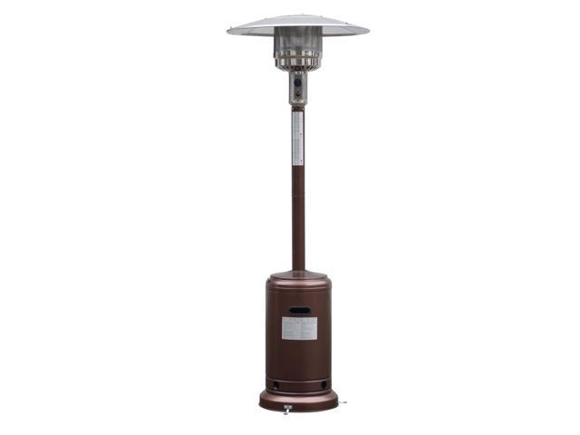 Charmant GoPlus Corp Garden Outdoor Patio Heater Propane Standing LP Gas Steel W/  Accessories Bronze