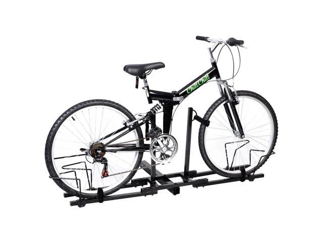 2 Bike Bicycle Carrier Hitch Receiver 2 Heavy Duty Mount Rack Truck
