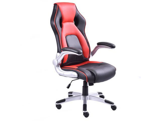 PU Leather Executive Racing Style Bucket Seat Office Desk Chair Gaming Chair