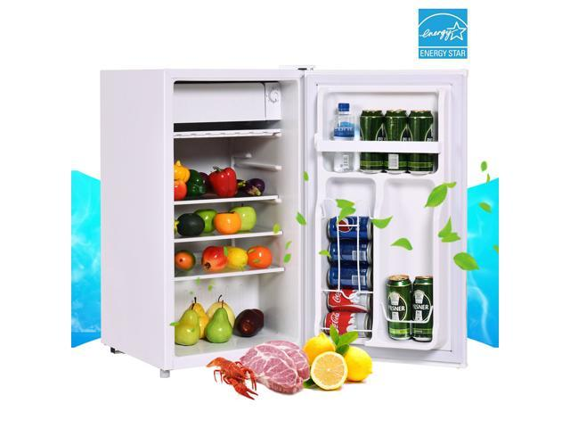 Stainless Steel Refrigerator Small Freezer Cooler Fridge Compact 3 2 cu ft   Unit - Newegg com