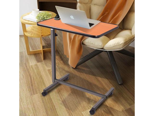 Sensational Overbed Rolling Table Over Bed Laptop Food Tray Hospital Desk With Tilting Top Newegg Com Download Free Architecture Designs Lukepmadebymaigaardcom