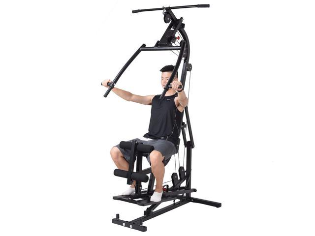 Multifunction Cross Trainer Workout Machine Strength Training Fitness Exercise