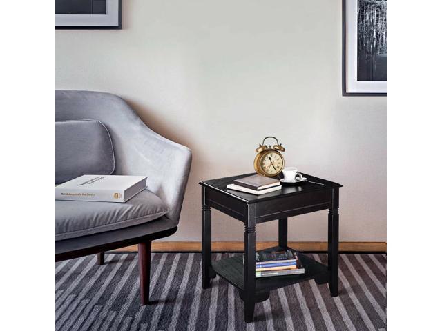 Nolan End Table Durable Quality Furniture Shelf Decor Home Living Room