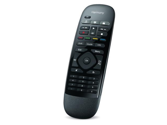 Logitech Harmony Smart Control with Smartphone App and Simple All In One  Remote - Black - Newegg com