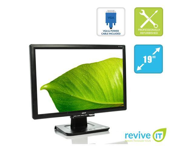 "HP Compaq LA2205wg 22/"" LCD Widescreen Monitor w//VGA-Power Cable FreeShip WORKING"