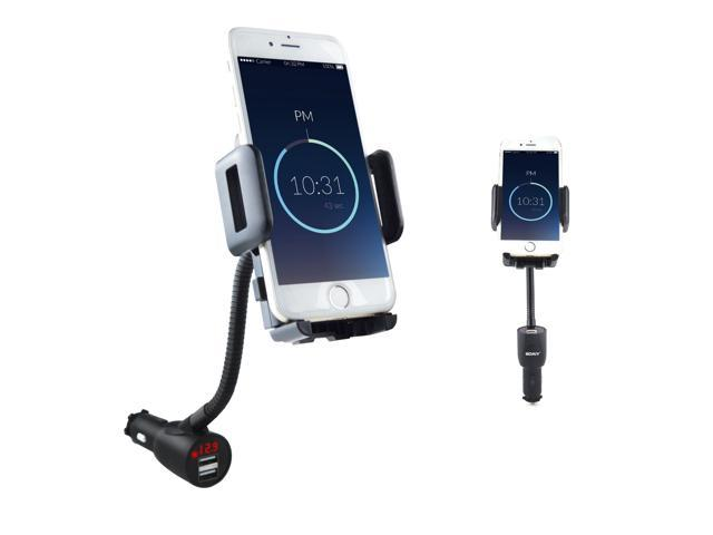 The Best 2-port Usb Car Charger Led Voltmeter Adapter For Iphone Samsung Lg Mobile Phone Mobile Phone Accessories Car Chargers