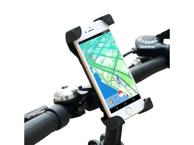 new styles 3abc0 77da3 Bike Phone Mount Bicycle Holder, Yoassi Universal Cycle Adjustable Holder  Cradle for iPhone 6 6+ 6S 6S Plus 5S, Samsung Galaxy S7 S6 S5 S4 S3,Note 3  4 ...