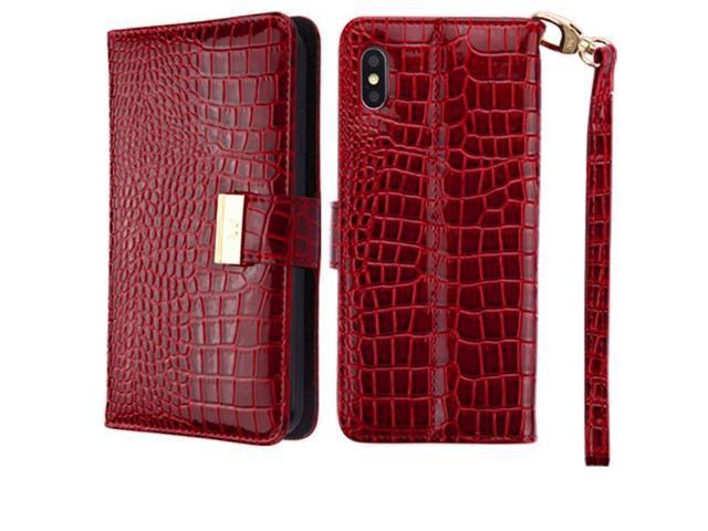 iphone xs max burgundy case