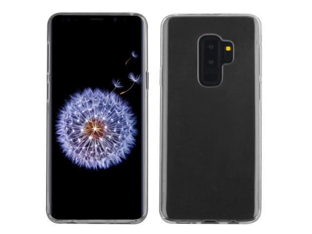 finest selection 01e74 8f3bb Rubberized Crystal Case for Samsung Galaxy S9 Plus - Clear 901 - Newegg.com