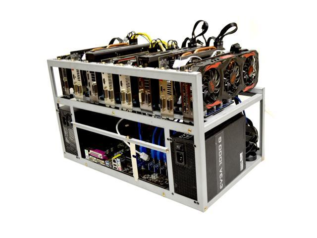 black ice cryptocurrency mining rig