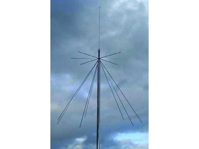 MFJ-1868 Vertical antenna, 6m-23cm discone, UHF - Newegg com