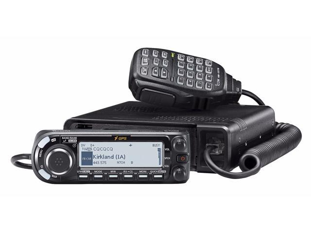 Icom ID-4100A VHF/UHF Dual Band D-STAR Mobile Transceiver with MARS/CAP Mod  for Extended Transmit Frequency Ranges - Newegg com