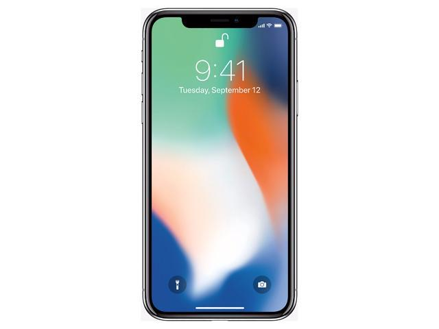 "Apple iPhone X 4G LTE Unlocked Cell Phone 5.8"" Space Gray 64GB 3GB RAM"