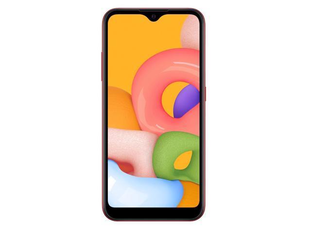 Samsung Galaxy A01 A015M 32GB Dual Sim GSM Unlocked Phone (International Variant/US Compatible LTE)