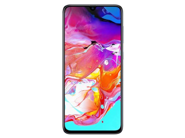 Samsung Galaxy A70 A705M 128GB DUOS GSM Unlocked Android Phone W/ Dual 32MP Camera (International Variant/US Compatible LTE) - White