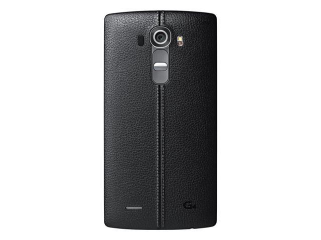 the best attitude 984fe 5d302 Refurbished: LG G4 H812 32GB Unlocked GSM 4G LTE Android Phone w/ 16MP  Camera - Black Leather - Newegg.com