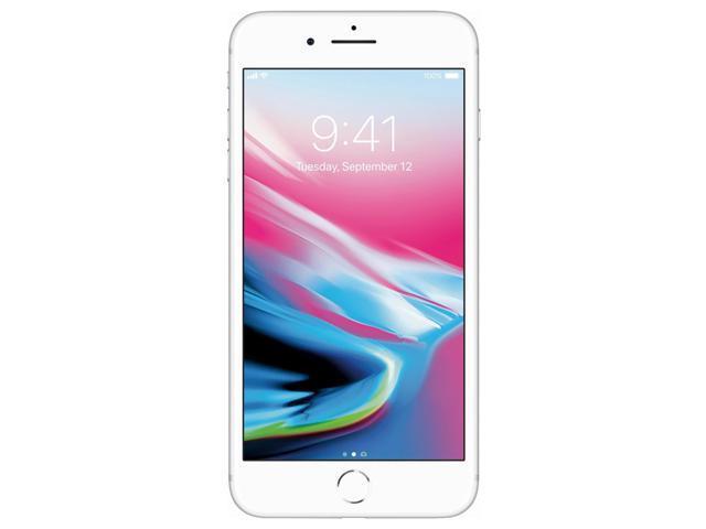 Apple iPhone 8 Plus 64GB Unlocked GSM Phone w/ Dual 12MP Camera - Silver