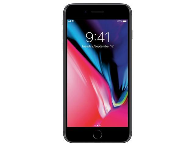 Apple iPhone 8 Plus 64GB Unlocked GSM Phone w/ Dual 12MP Camera - Space Gray