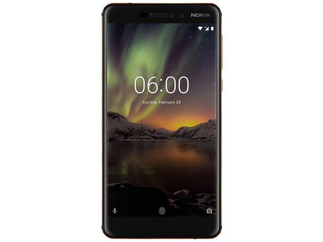 Nokia 6 1 TA-1045 32GB Unlocked GSM 4G LTE Android Phone w/ 16 MP Camera -  Black - Newegg com