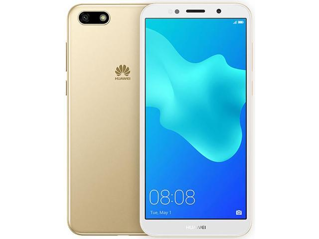 Huawei Y5 (2018) DRA-LX3 16GB Unlocked GSM Phone w/ 13MP Camera - Gold -  Newegg com