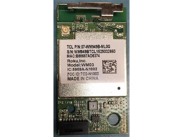 TCL 07-WM949B-ML0G Wifi Module - Newegg com
