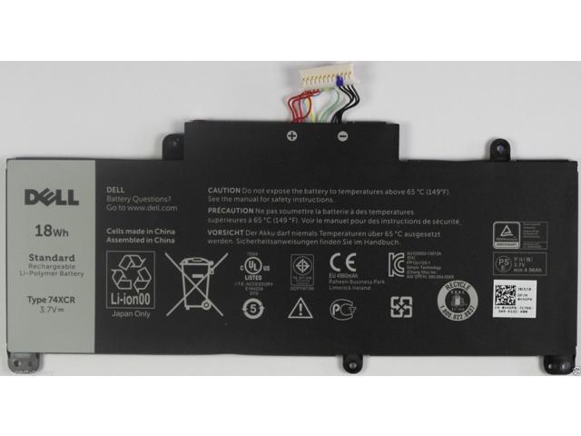 3 7V 18WH Genuine Original 74XCR Battery Dell Venue 8 Pro (5830) Tablet  074XCR - Newegg com