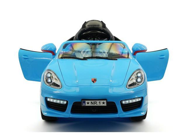 Porsche Boxster Style Kids Ride On Car Toy Mp3 12v Battery Ed Wheels With
